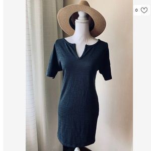 [Old Navy] Navy Blue Soft T Shirt Dress Casual